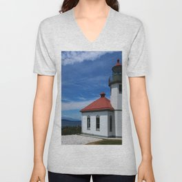 Alki Point Light Unisex V-Neck