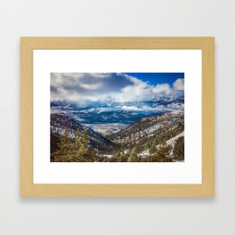 Lost in Reno Framed Art Print