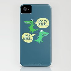 in a while... iPhone (4, 4s) Slim Case