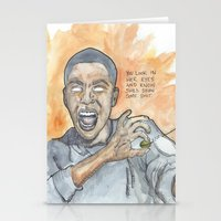 oitnb Stationery Cards featuring Poussey OITNB by Ashley Rowe