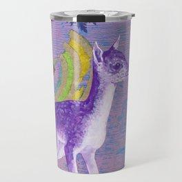 rainbow deer 1 Travel Mug
