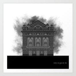 HexArchi - Portugal, Porto, Teatro Nacional São João Art Print
