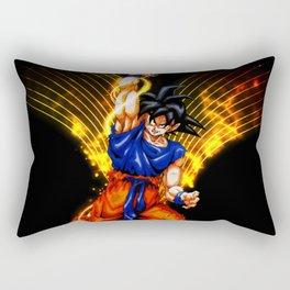 the goku power Rectangular Pillow