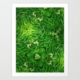 The Mystery Of The Grass Art Print