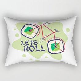Lets Roll! Rectangular Pillow