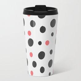 Hipster Circle Pattern Travel Mug