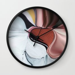 Liquid Iceland Wall Clock