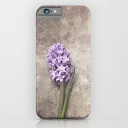 Light Purple Hyacinth iPhone Case