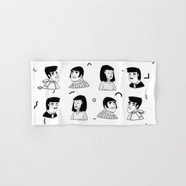 People Avatar | Pattern Art Hand & Bath Towel