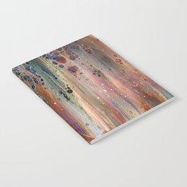 Fluid Acrylic IX - Abstract, original, acrylic pour painting Notebook