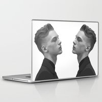 boys Laptop & iPad Skins featuring Boys by Grace Teaney Art