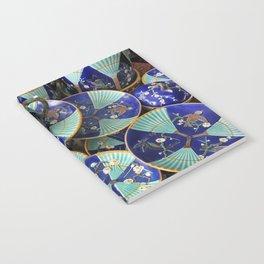 Wedgwood majolica Fan pattern Notebook