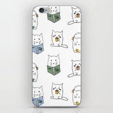 3 Cats Pattern iPhone & iPod Skin
