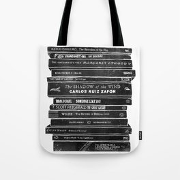 Mono book stack 2 Tote Bag