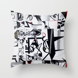 Teknition Throw Pillow
