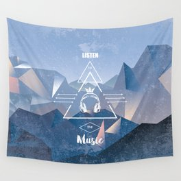 listen to the music Wall Tapestry