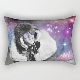 People of the Universe-Space Glasses-Purple Rectangular Pillow