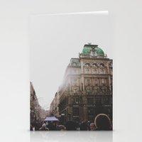 vienna Stationery Cards featuring Vienna  by Karen