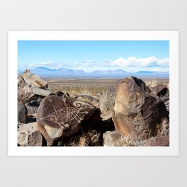 Desert Art Art Print