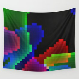 Neon Game Wall Tapestry