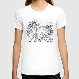 Calligraphy Kirin T-shirt
