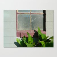 cracked Canvas Prints featuring Cracked by Brianna Noel Parrott