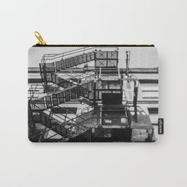 Tilt and Shift fire escape, Manchester Carry-All Pouch