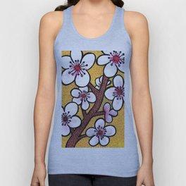 Cherry Blossoms Unisex Tank Top