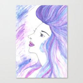 Cool Breeze Nymph Canvas Print