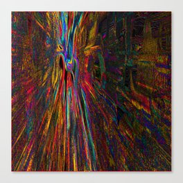 Re-Created Rapture 4 by Robert S. Lee Canvas Print