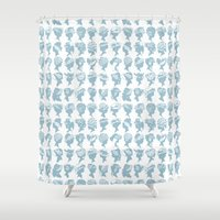 hats Shower Curtains featuring Hats by Billington