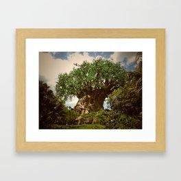 Animal Kingdom Tree of Life 1 Framed Art Print