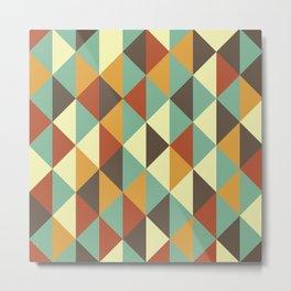 Triangle stencil Metal Print