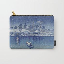 Ushibori, Kawase Hasui, 1930 - Japanese Woodcut Carry-All Pouch