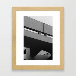 MON - Museu Oscar Niemeyer Framed Art Print