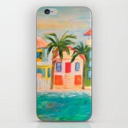 Beach houses iPhone Skin
