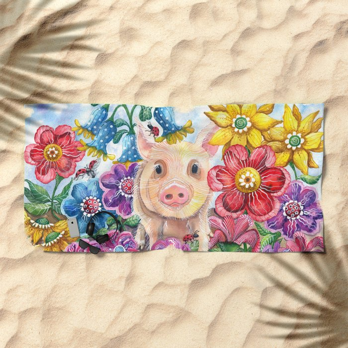 Penelope Beach Towel