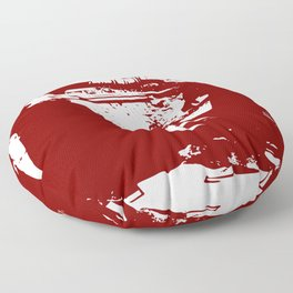 Bonnie and Clyde Floor Pillow