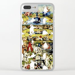 Bosch Creatures/Garden of Earthly Delights I Clear iPhone Case