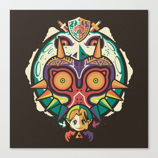 A Terrible Fate Canvas Print