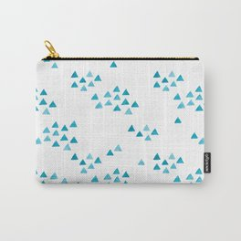 Minimalist Watercolor triangles Carry-All Pouch