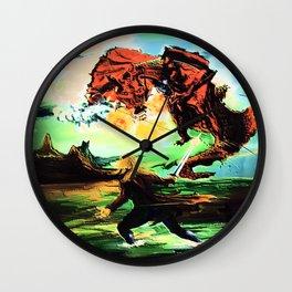 Azaleas Wall Clock