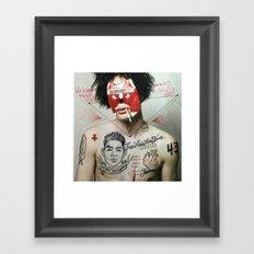 AYOTZINAPA  Framed Art Print