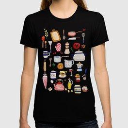 Watercolor Kitchen Utensils T-shirt