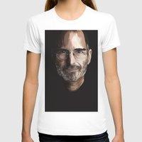 steve jobs T-shirts featuring Steve Jobs by Misha Libertee