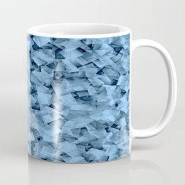 Geometric Stacks Mini Demin Blue Coffee Mug