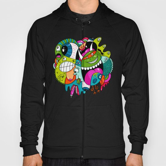 Complicated Scribble Hoody