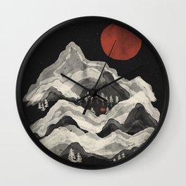 Moon Lake... Wall Clock