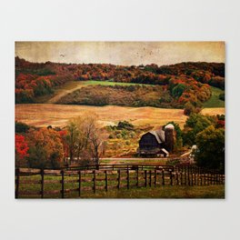 Farm Country Autumn Canvas Print