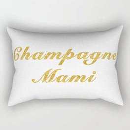 Champagne Mami Rectangular Pillow